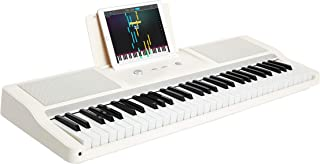 The ONE Smart Piano Keyboard with Lighted Keys, Electronic Piano 61 Keys, Electronic MIDI Keyboard, Home Digital Music Key...
