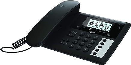 Telekom Sinus PA 207 Plus Tischtelefon und Mobilteil, schwarz