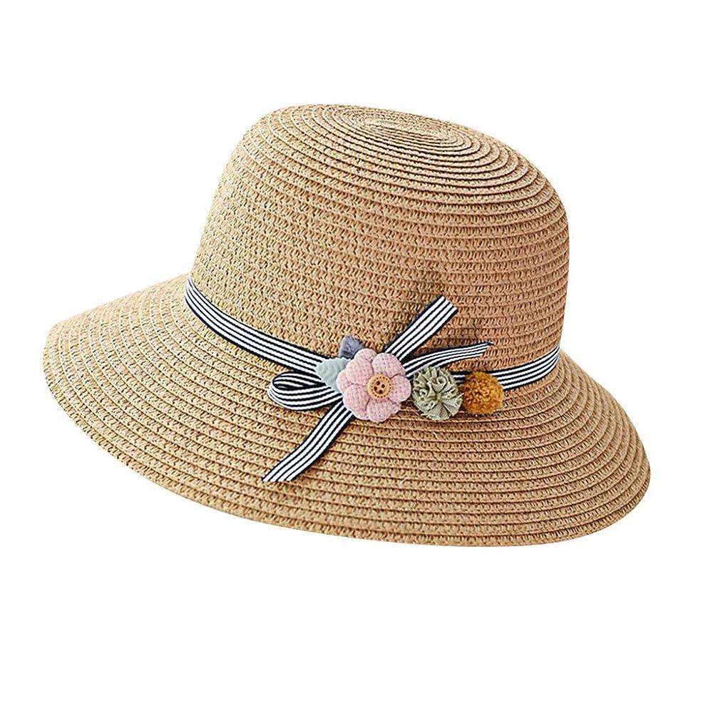 ペレットゴネリルスローガン漁師帽 夏 帽子 レディース UVカット 帽子 ハット レディース 紫外線対策 日焼け防止 つば広 日焼け 旅行用 日よけ 夏季 折りたたみ 森ガール ビーチ 海辺 帽子 ハット レディース 花 ROSE ROMAN