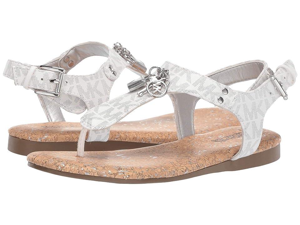 MICHAEL Michael Kors Kids Tilly Cora (Little Kid/Big Kid) (White Logo) Girls Shoes