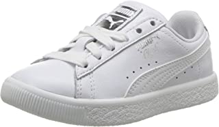 PUMA Unisex-Child 36466207 Clyde Core L Foil 11 M US Little Kid White