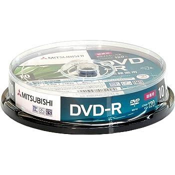 三菱ケミカルメディア 1回録画用 DVD-R CPRM 120分 10枚 ホワイトプリンタブル 片面1層 1-16倍速 3年保証 VHR12JP10SD1-B