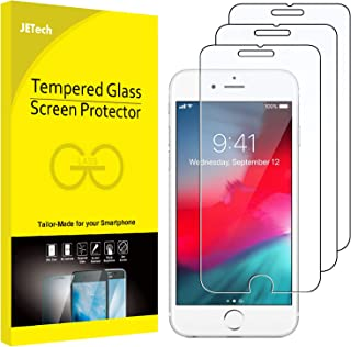 JETech 3-Pack Screen Protector for iPhone 8 Plus, iPhone 7 Plus, iPhone 6s Plus and iPhone 6 Plus, Tempered Glass Film, 5....