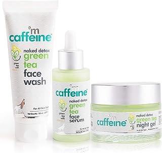 mCaffeine AM PM Routine   Dirt Removal, Hydration, Moisturization   Face Wash, Face Serum, Night Gel   All Skin   Paraben...