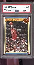1988-89 Fleer #120 Michael Jordan All-Star AS MINT PSA 9 Graded Basketball Card