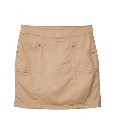 Jag Jeans Hillary Pull-On Twill Skort (British Khaki) Women