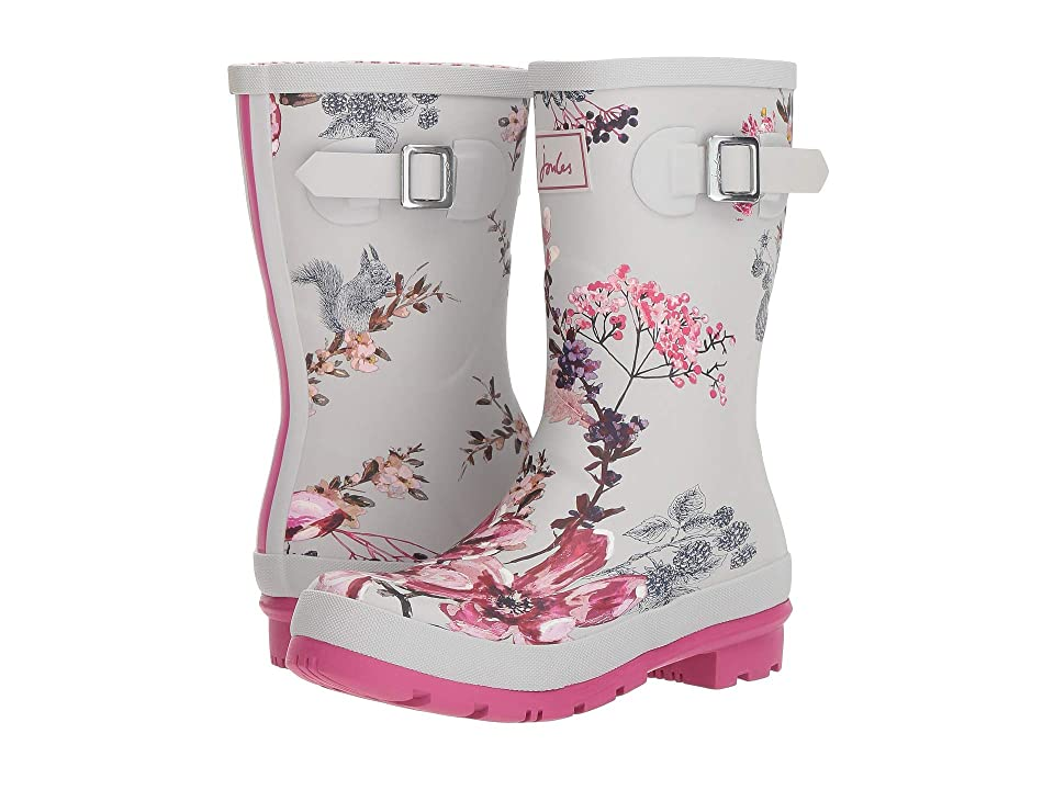 Joules Mid Molly Welly (Silver Harvest Floral) Women