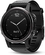 $292 » Garmin fēnix 5s, Premium and Rugged Smaller-Sized Multisport GPS Smartwatch, Silver/Black