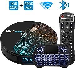 Android TV Box 9.0 4GB 64GBSmart TV Box Streaming Media Player RK3318 USB 3.0 Ultra HD..