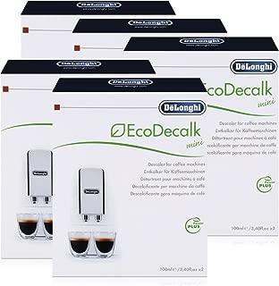 DeLonghi EcoDecalk Mini Bajo antical Pack 10x 100ml para máquinas de café, Café automáticas–Nº: 5513292821Nokalk