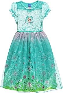 Disney Girls' Frozen Fever Elsa Fantasy Nightgown