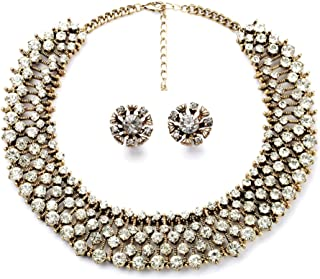 Classic Refinement Crystal Wild Collar Fashion Necklace