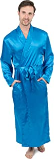 Leveret Mens Satin Robe Christmas Robe (Size Small-XXX-Large)