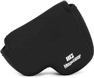 MegaGear ''Ultra Light'' Neoprene Camera Case Bag with Carabiner for Nikon COOLPIX B500 Digital Camera (Black)
