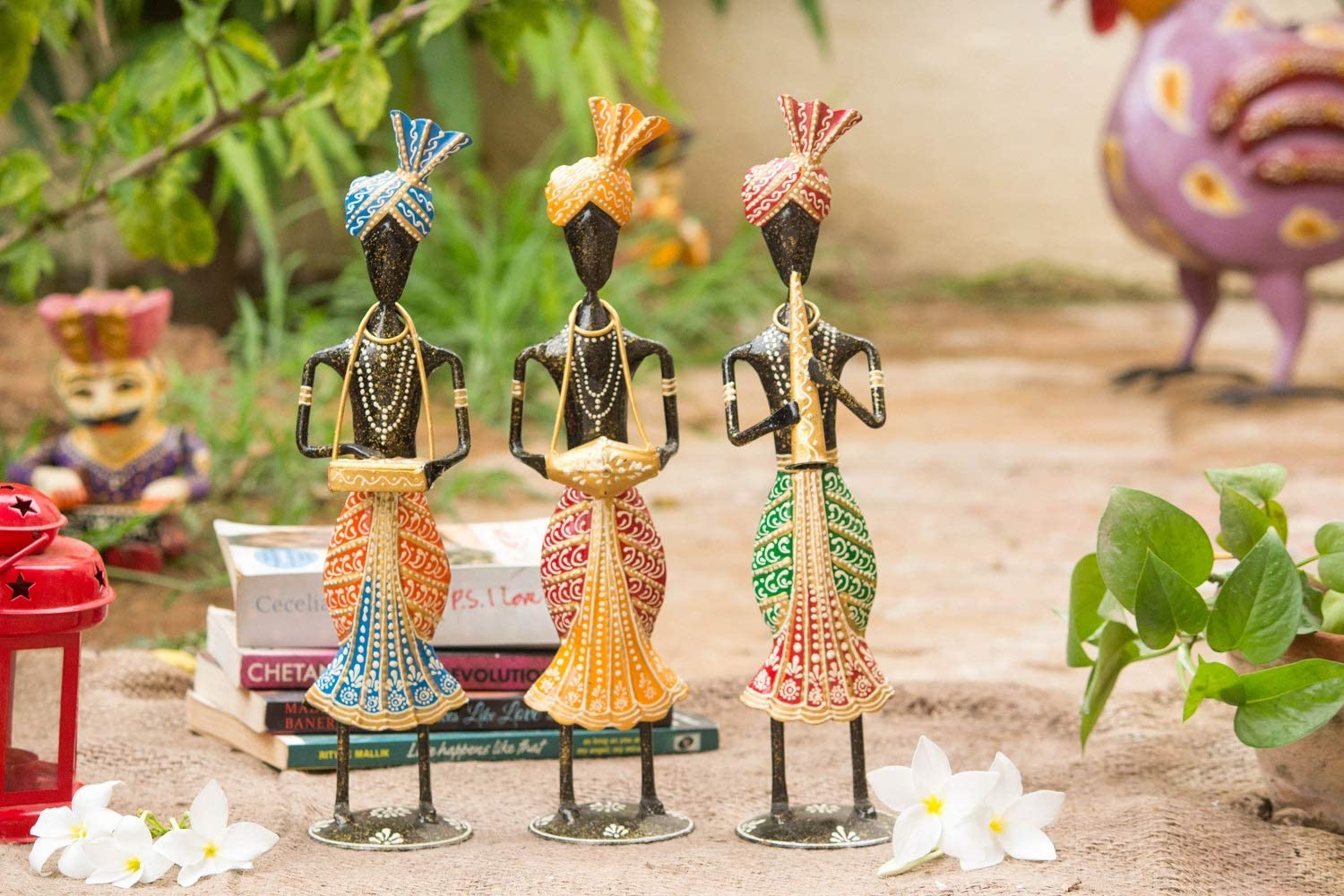 Crafticia Iron Industry No. 1 Tribal Musician Sardar Et Selling and selling Showpiece Handmade Doll