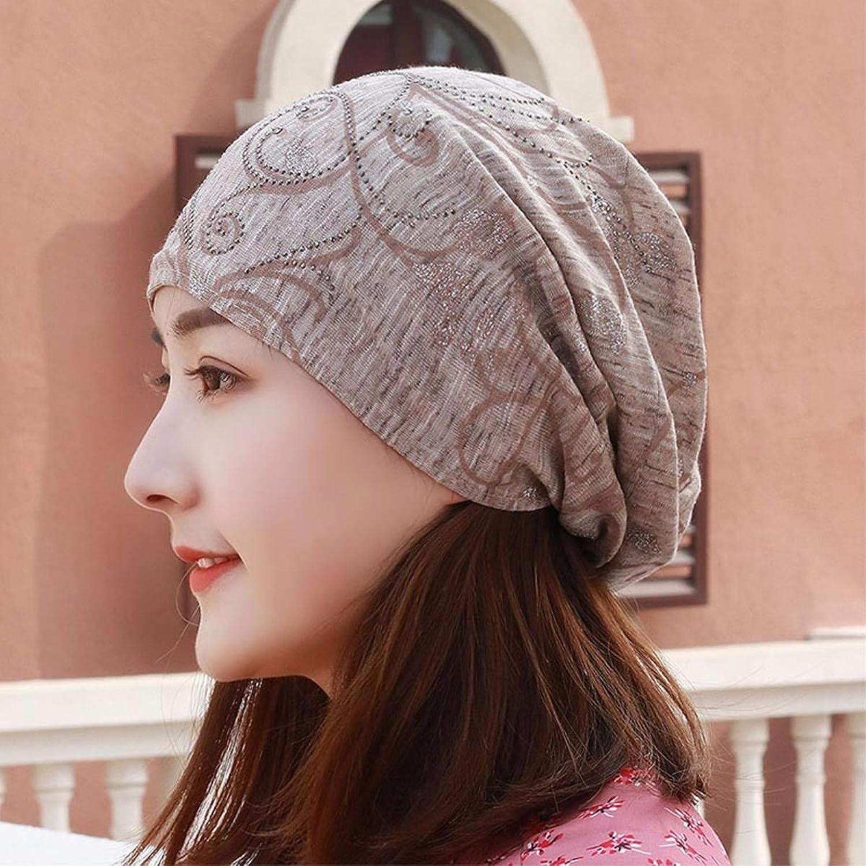 Chuiqingnet Hat female flowers scarf, Cap Baotou cap pregnant Cap Air Conditioning dust cap storehouse cap outdoor bald Cap