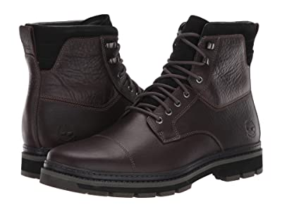 Timberland Port Union Waterproof Insulated Boot (Dark Brown Full-Grain) Men