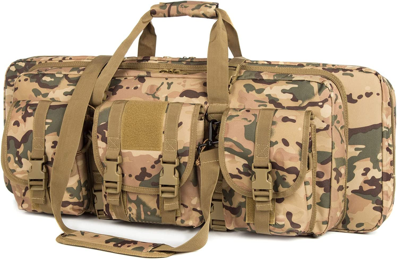 AIRTTUZ Double Rifle 激安通販 Case Tactical Rifles 爆買い新作 for Ri Gun Bag Perfect