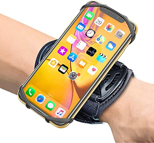 Comsoon Sports Wristband, 360° Rotatable Forearm Armband Phone Holder Compatible with iPhone 11 Pro Max/Xs/XR/8/7/SE,...