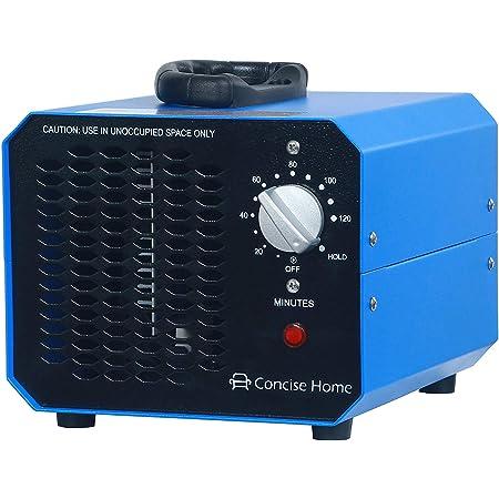 Concise Home Blue 10000 mg generador de ozono comercial fuerza industrial O3 purificador de aire desodorizador esterilizador