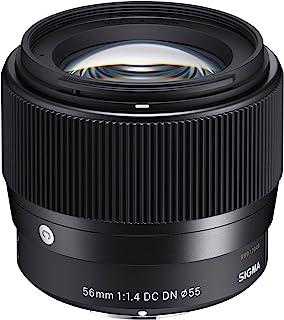 عدسة سيجما 56 ملم فتحة f1.4 السلسلة C لكاميرات سوني E