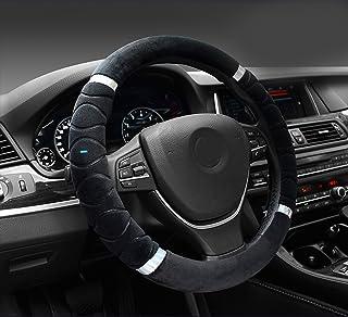 NIKAVI Silk Steering Cover (Black)