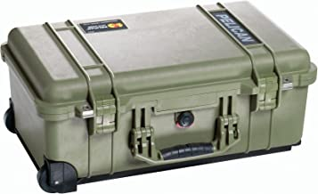 Pelican 1510 Case With Padded Dividers (OD Green)