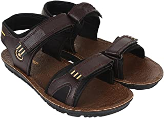 Shoefly Mens Brown-938 Sandals & Floaters