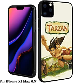 DISNEY COLLECTION PC and TPU Case iPhone 11 Pro Max 6.5 Inch Tarzán Poster