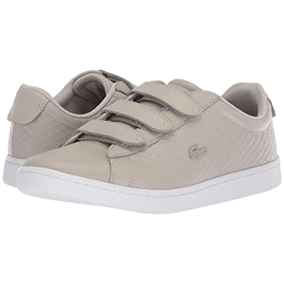 Lacoste Carnaby Evo Strap 418 1 (Grey/White) Women