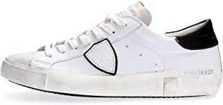 Philippe Model Paris Scarpe PRSX L U Basic Blanc Noir