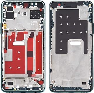 ZHANGYOUDE Repair Parts Middle Frame Bezel Plate for Huawei P40 Lite 5G / Nova 7 SE(Black) (Color : Green)