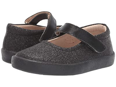 Old Soles Missy Shoe (Toddler/Little Kid) (Glam Black/Nero) Girl