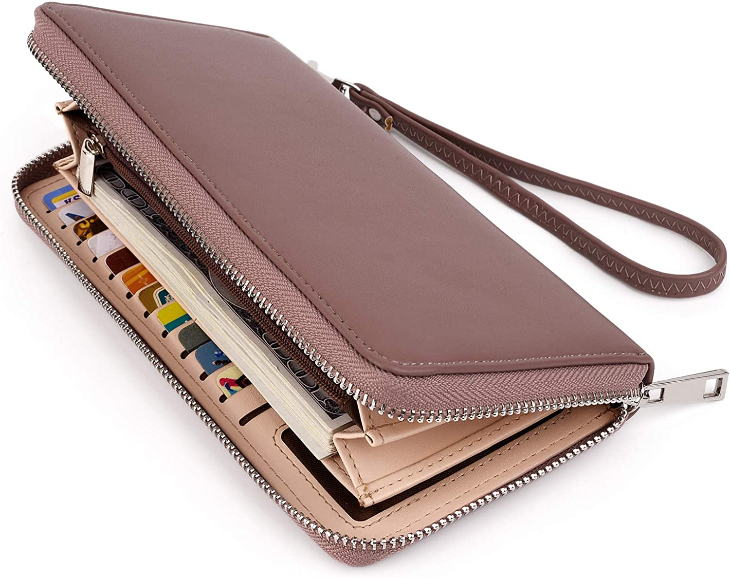UTO Women Wallet Large Don't miss the campaign Leather Around Holder Checkbook Card Zip Max 78% OFF