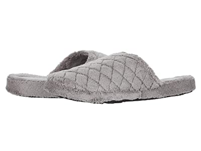 Acorn Spa Quilted Clog (Grey) Women