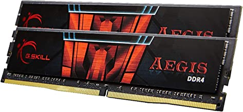 G.Skill 32GB DDR4 Aegis 3000MHz PC4-24000 CL16 Dual Channel Memory Kit (2x16GB)