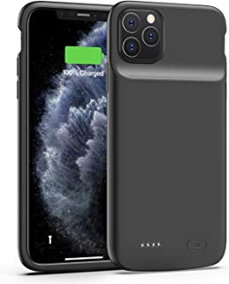 iPhone 11 Pro Max Battery Case,ShowTop 5000mAh Protective Portable Charging Case, Rechargeable Extended Charger Case for i...