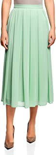Collection Women's Pleated Skirt in Flowing Fabric