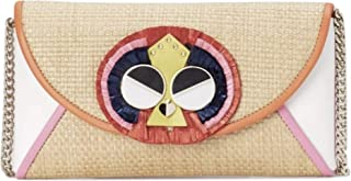 Kate Spade Clutch for Women- Beige/Multicolor