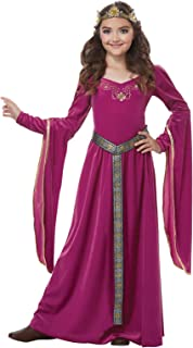 Medieval Princess Fuschia Child Costume