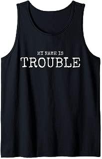 trouble maker tank top