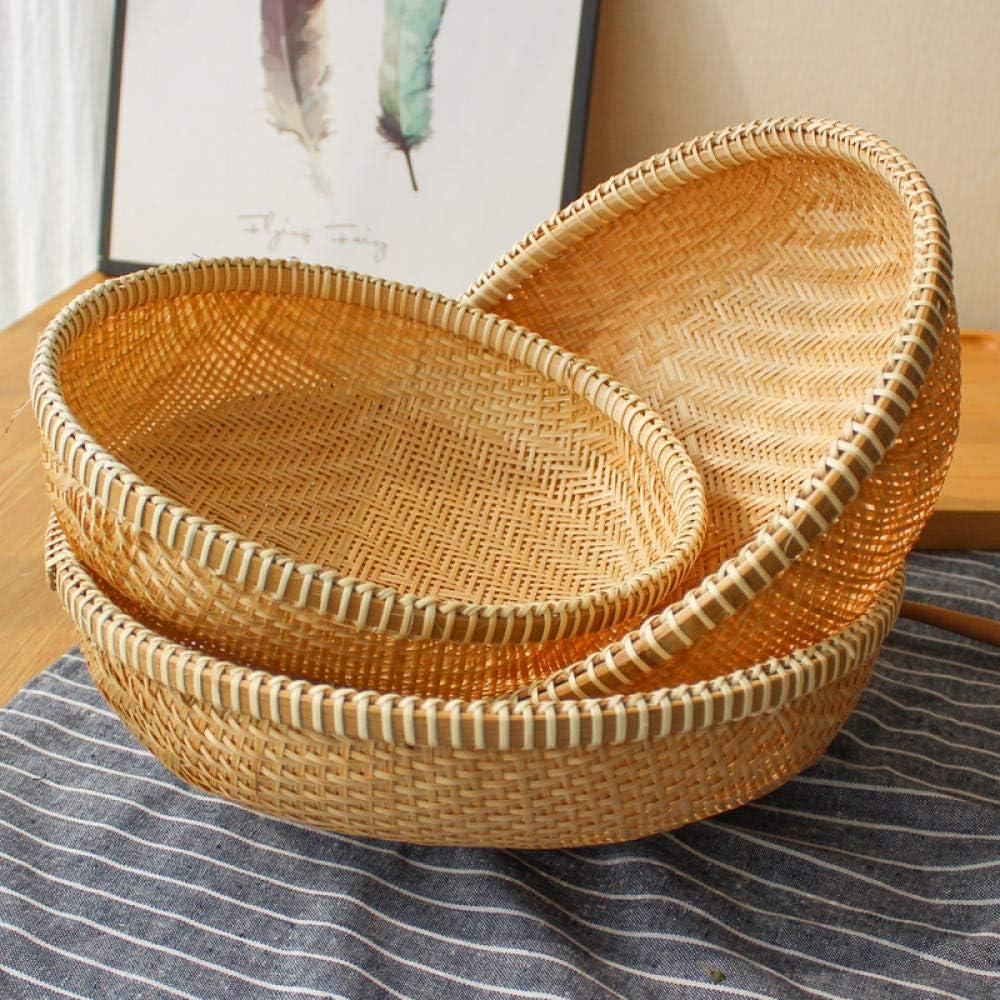 Bamboo Sales Sale SALE% OFF results No. 1 Storage Basket Sieve Veg Handmade