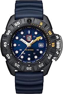 Luminox Mens Wrist Watch Scott Cassell Deep Dive Edition 45 mm Black Case Blue Dial (XS.1553): 300 M Water Resistant + Cry...