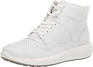ECCO Women's Soft 7 Runner Ankle Boot, White, 40 M EU (9-9.5 US)