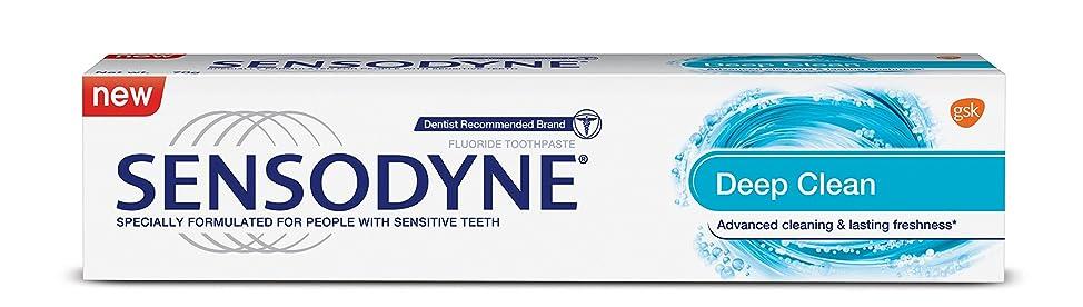 パトワメロドラマティック旅Sensodyne Sensitive Toothpaste - Deep Clean, 70g