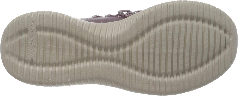 Skechers Ultra Flex-Bright Future-12849, Sneaker Donna Viola Mauve Mve