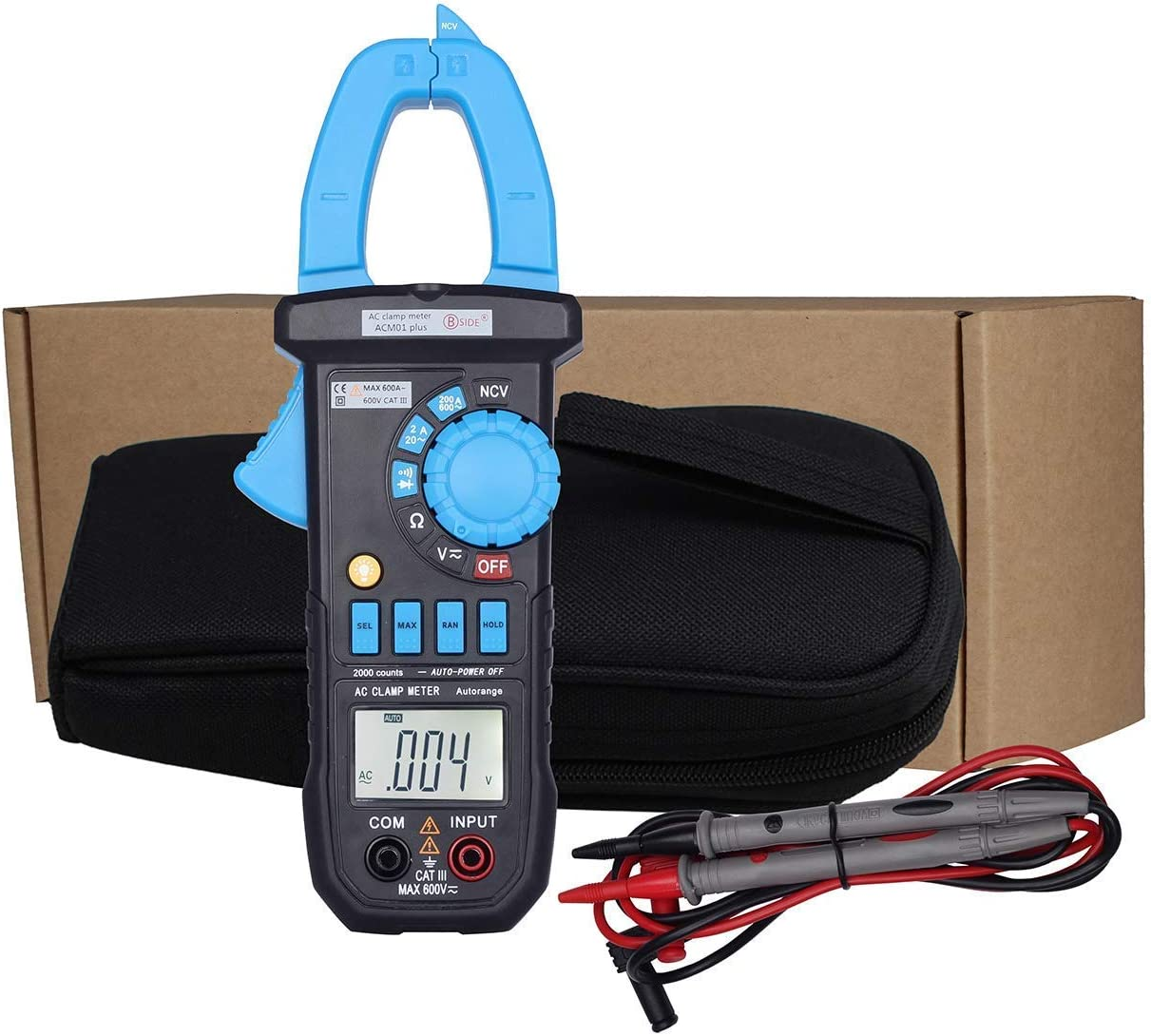 XUXUWA Current Clamp Our shop most popular Max 55% OFF Meter Portable Multimeter Scientific