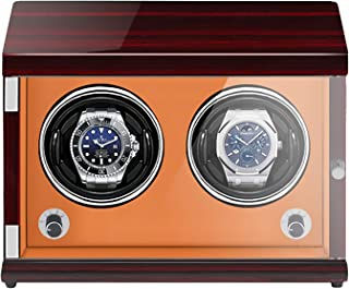 Watch Windrs - Ricaricabile Orologio a Due Posizioni Shaker Mechanical Watch Winder Verticale Automatic Watch Box Box con ...