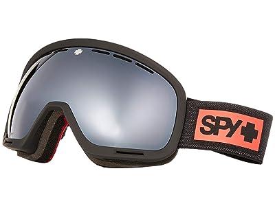 Spy Optic Marshall (Night Rider Matte Black/Bronze/Silver Spectra Mirror/Clear) Snow Goggles