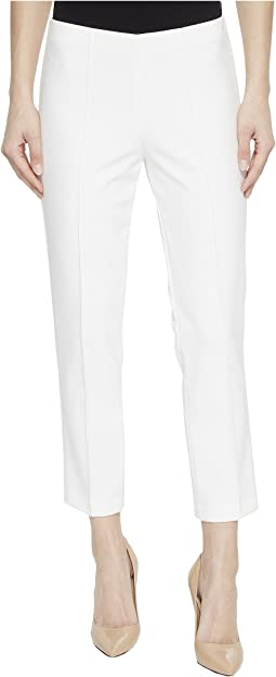 No Waist Pull-On Crop Pants